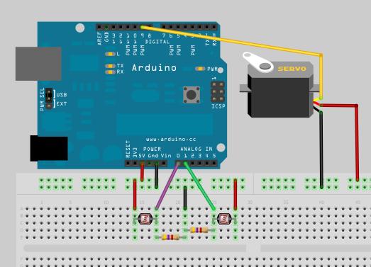 Pannello Solare Con Arduino : Isarduino micro robot inseguitore solare con arduino