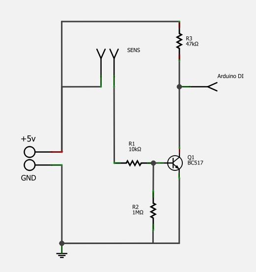 Water Sensor Arduino Circuit