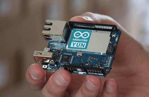 Getting started with the Arduino Yun - the Arduino